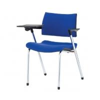 Chaise de dos, avec une table pour écrire