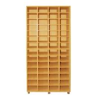 56 armoire de test avec des étagères