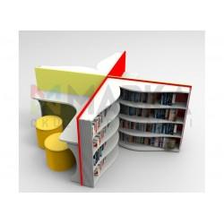 مكتبة مخصصة تصميم كتاب