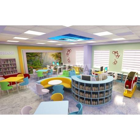 Ortaokul Z-Kütüphane Modeli