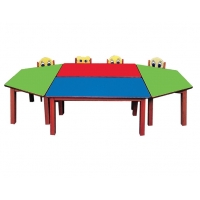 Trapeze table group