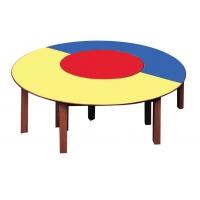 Üçlü Yuvarlak Masa