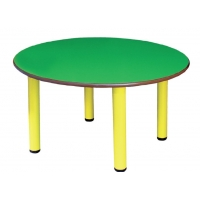 Metal leg round table