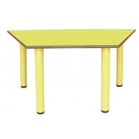 Parallélogramme Table avec pieds en métal