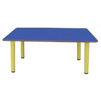 Table rectangulaire avec pieds en métal