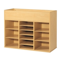 Open Top And Septate Cupboard