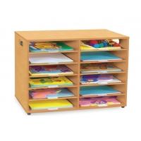 Twelve Shelf Cardboard