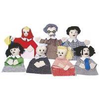 Family Puppet Set