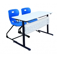 Nudo Double School Desk