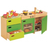 Colorful Kitchen Set