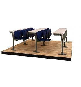 Classic lecture desk (front)