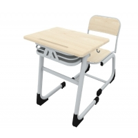 Single classic werzalit school desk