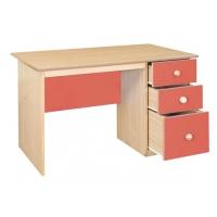 Renkli öğretmen masası