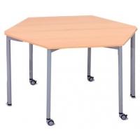 Line rhomboid table