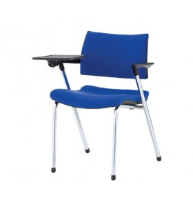 Back chair , with writting table