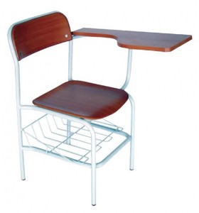 Werzalit chair, with writting table