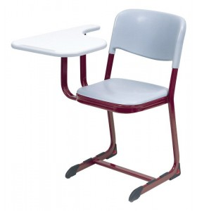 PPC chair, with writting table