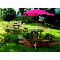 Şemsiyeli Ahşap Piknik Masası