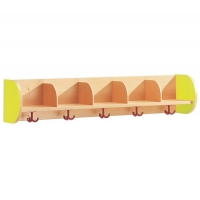 Septate coat rack