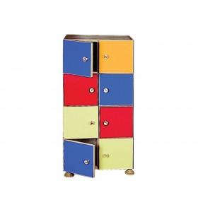 Octal coat rack