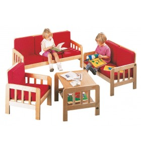 Plywood sitting group