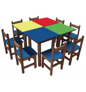 Groupe Table carrée