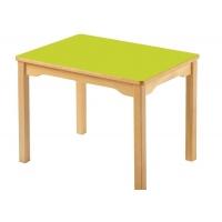 Jambe de Bois Table carrée