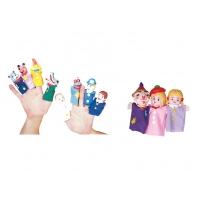 Plastik Başlı Parmak Kuklalar