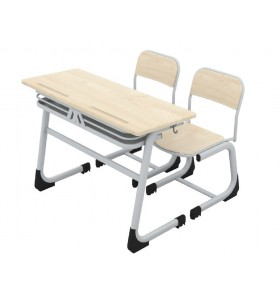 Classic double school desk (werzalite)