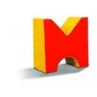 M الإسفنج على شكل