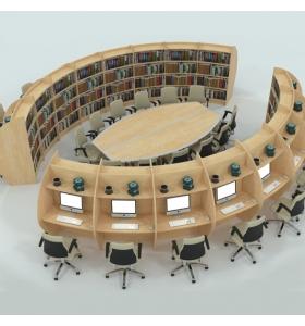 Oval Kütüphane