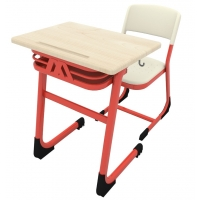 Classic single PPC school desk