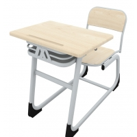 Combo Werzalit single school desk