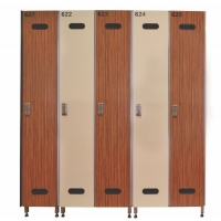 Sıngle Laminate Lockers