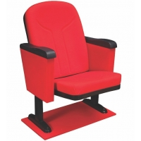Closed arms conference chair