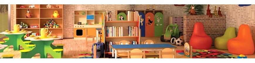 Mobilier de jardin d'enfants
